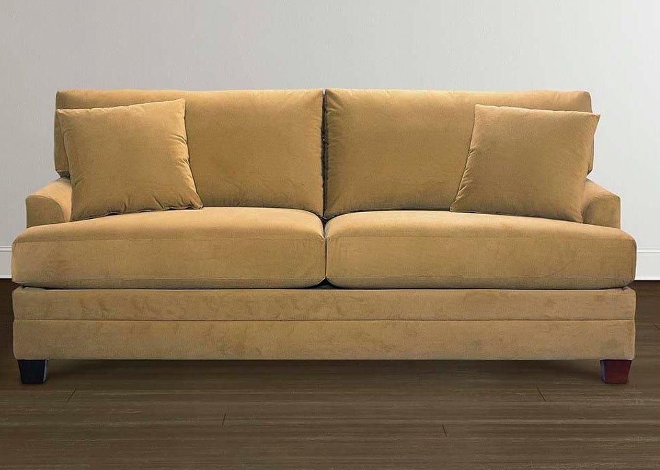 желтый диван в скандинавском стиле на заказ