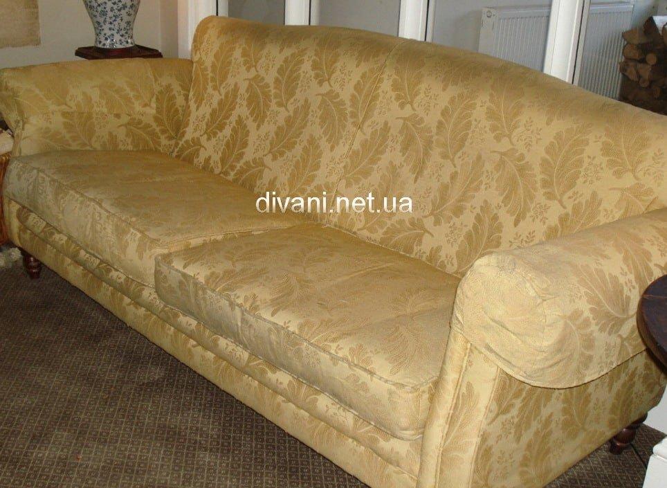 желтый диван на заказ