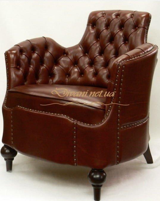 кожаное кресло на заказ в Киеве