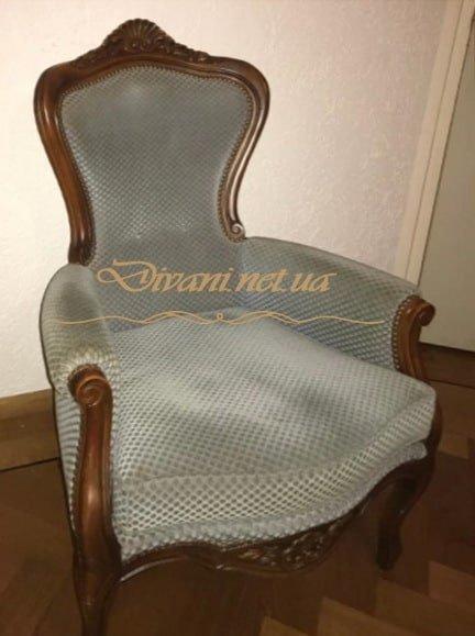 вельветовое кресло на заказ в Киеве