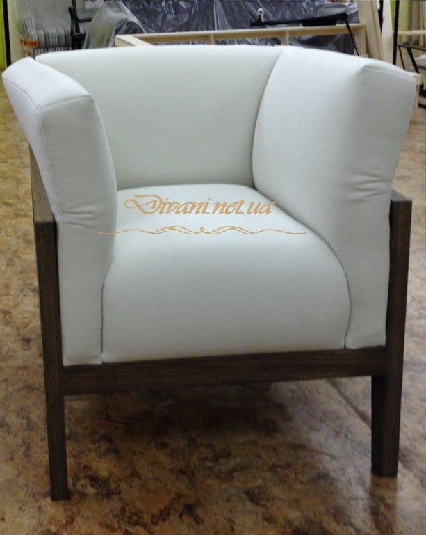 белое кресло на заказ в Киеве