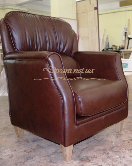 chears красное кресло из кожи