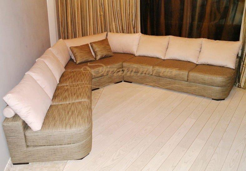 заказать п-образный диван