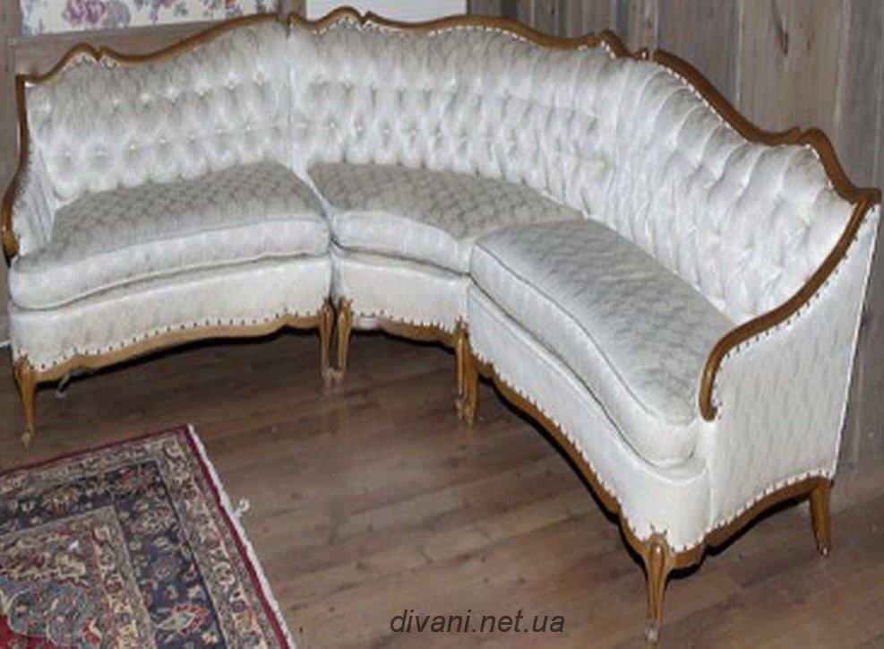 белый диван угловой под заказ