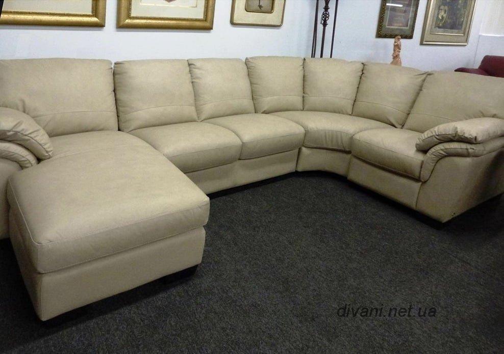 п образный диван для гостинной