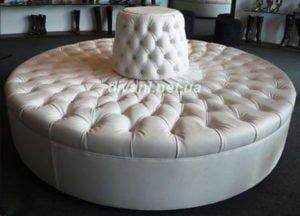 круглые диваны на заказ