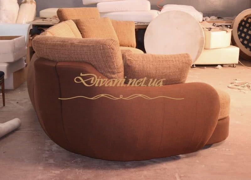 подульный диван радиусный на заказ
