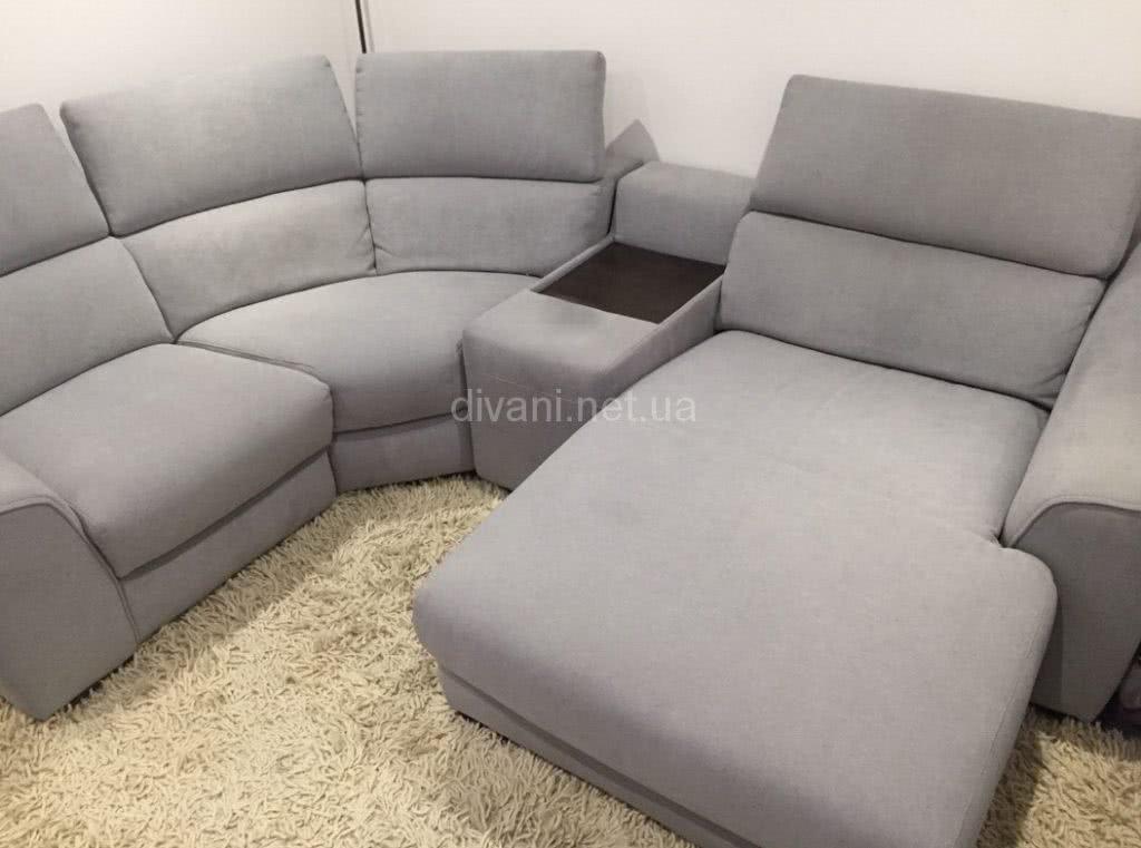 белый диван угловой