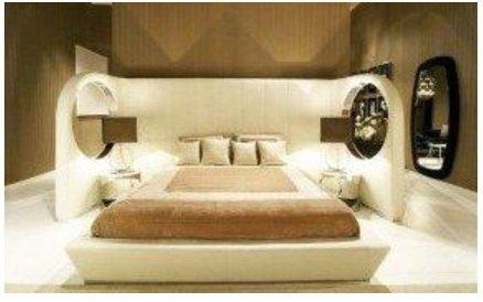мягкая кровать подиум на заказ
