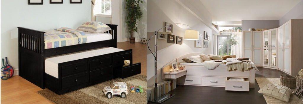 фотографии кровати с подиумом
