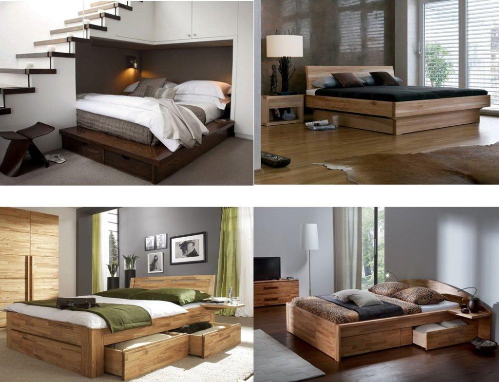 изготовление кровати подиум под заказ Киев