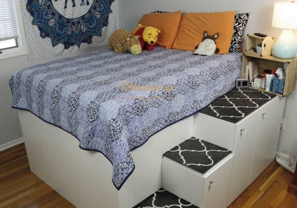 кровать подиум в детскую