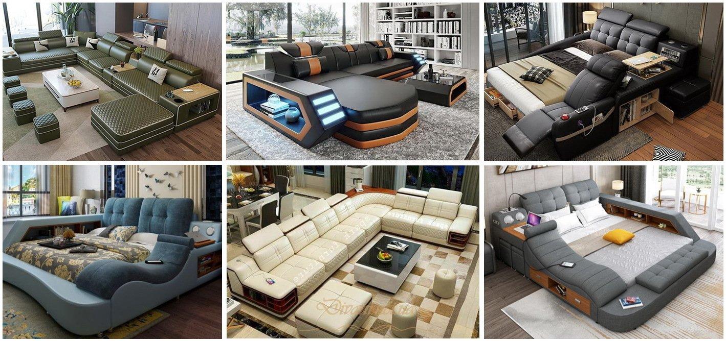 умная мягкая мебель