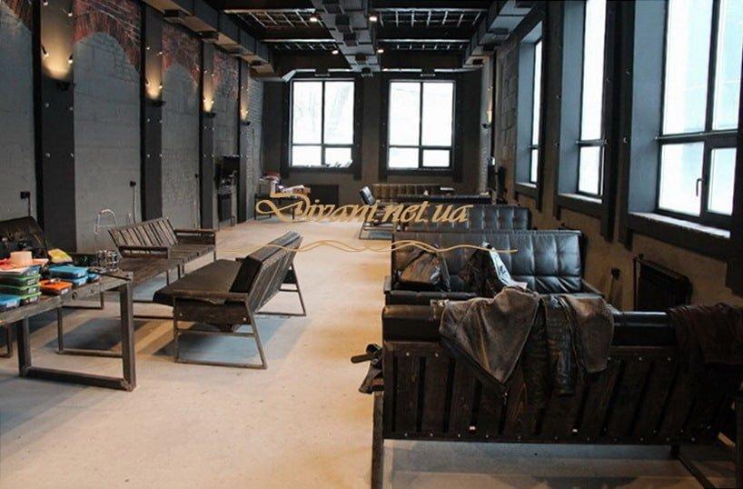 мебель в ресторан в стиле лофт