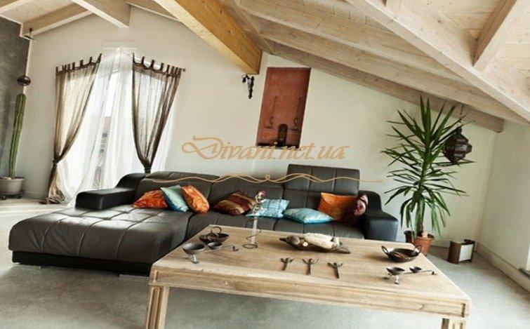 угловая мягкая мебель loft
