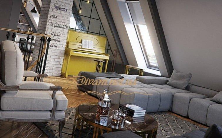 диван в стиле лофт на заказ