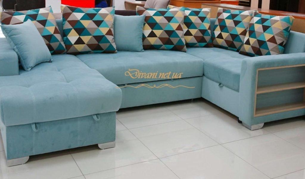 диван подковой