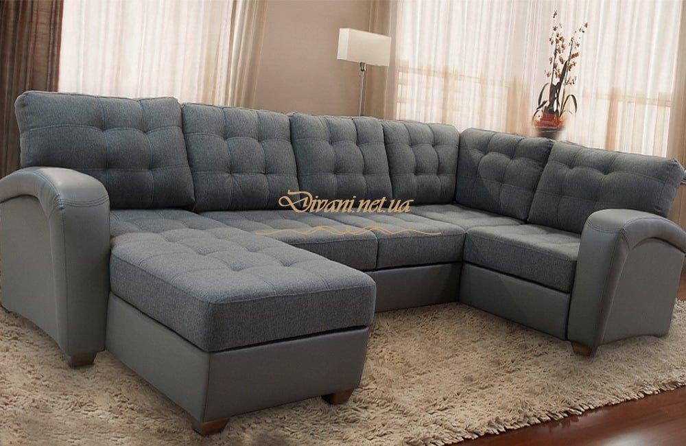 диван формы подковы