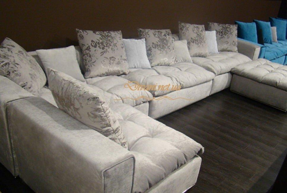 п образный диван для гостиной