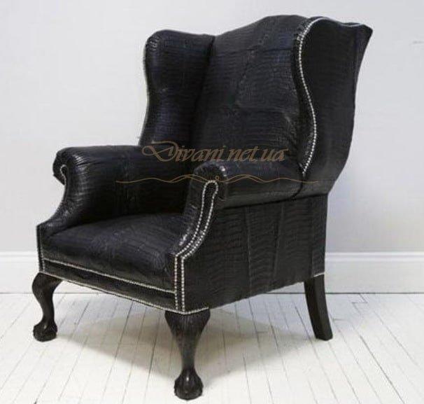 кресло честер кожаное на заказ