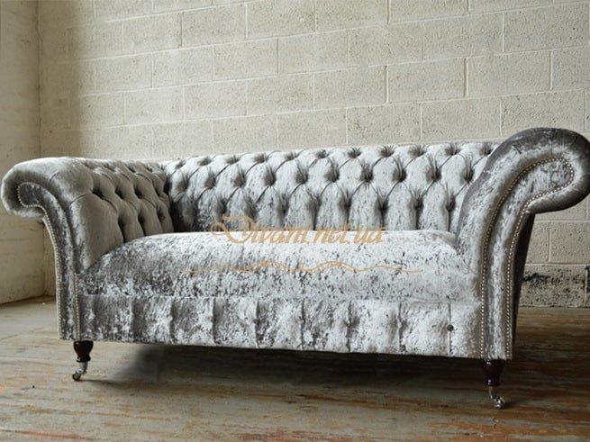 вельветовый диван честер