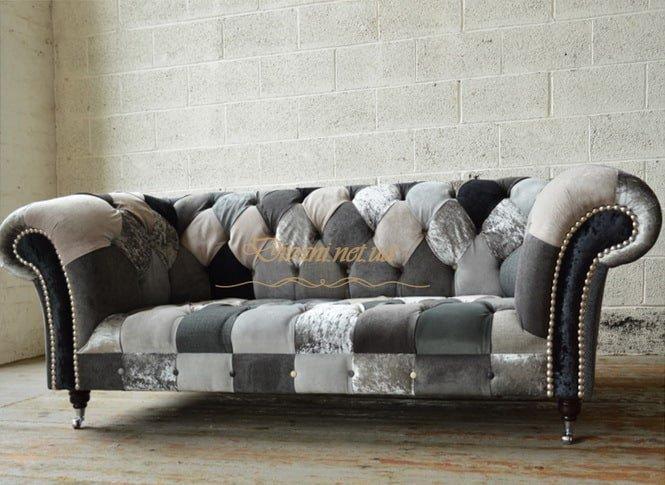 необычный диван честер