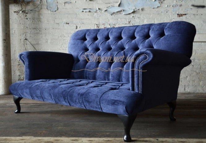 диван для спальни в стиле честер