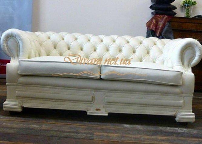 белый честер диван