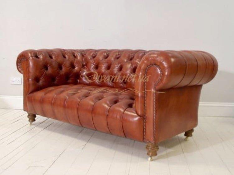 рыжий диван честер на заказ