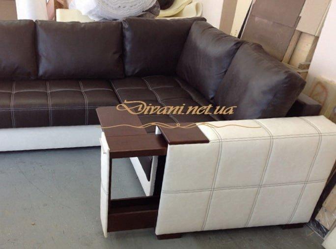 модульный белый диван умный в гостиную