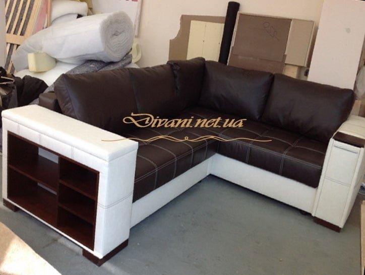 Угловой диван виноградарь