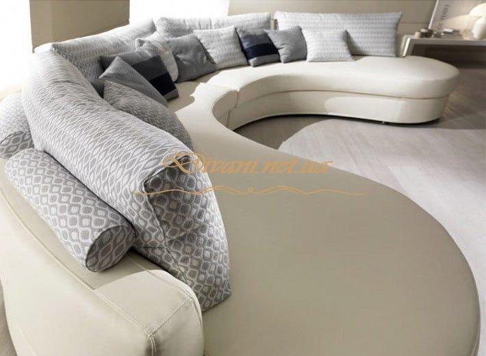диван в эеркер радиусный