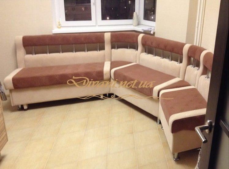 угловой эркерный диван