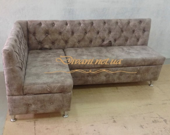 большой угловой диван кухонный