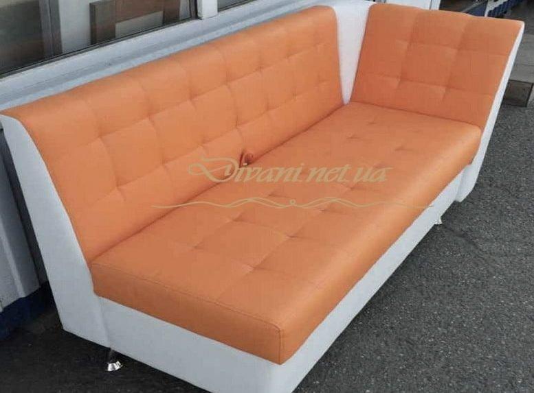 рыжий диван кухонный