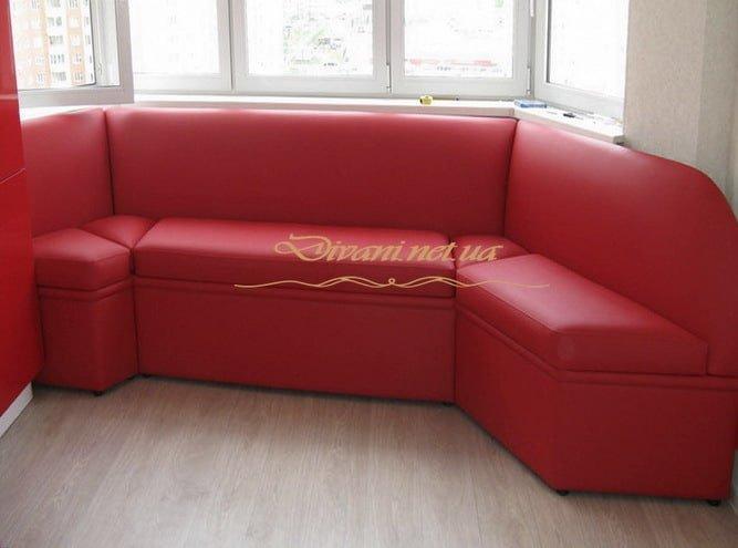 красный диван кухонный