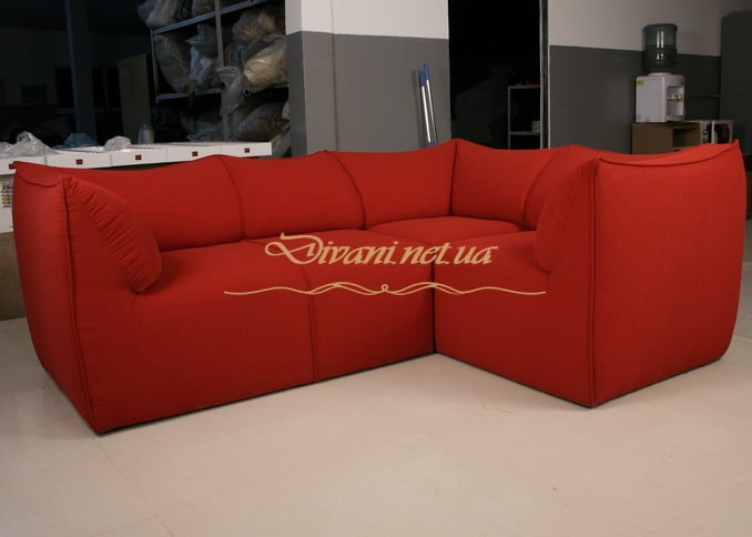 красный элитный диван в гостиную под заказ в Киеве