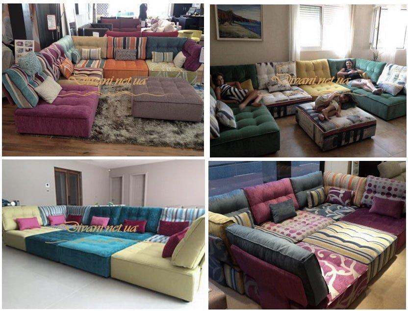 модульная мягкая мебель под заказ в Киеве