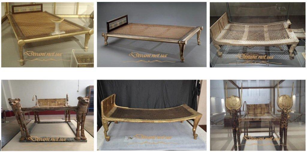 Египетская кровать