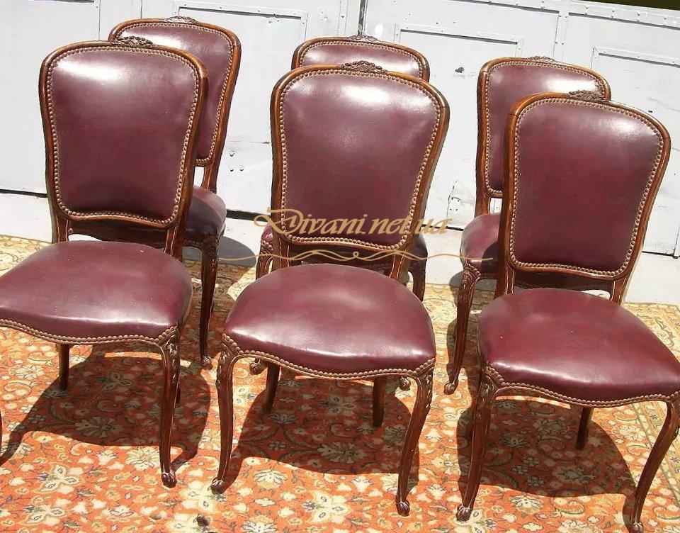стулья кожаные под заказ