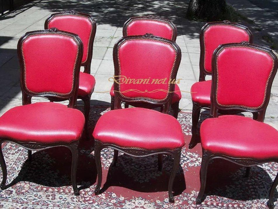 красные стулья под заказ