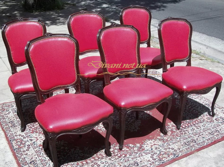 красные стулья под заказ в Киеве