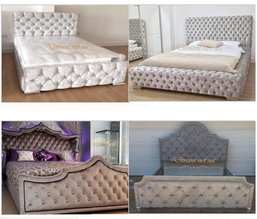 авторская мягкая кровать на заказ