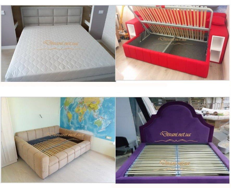 авторская мягкая кровать