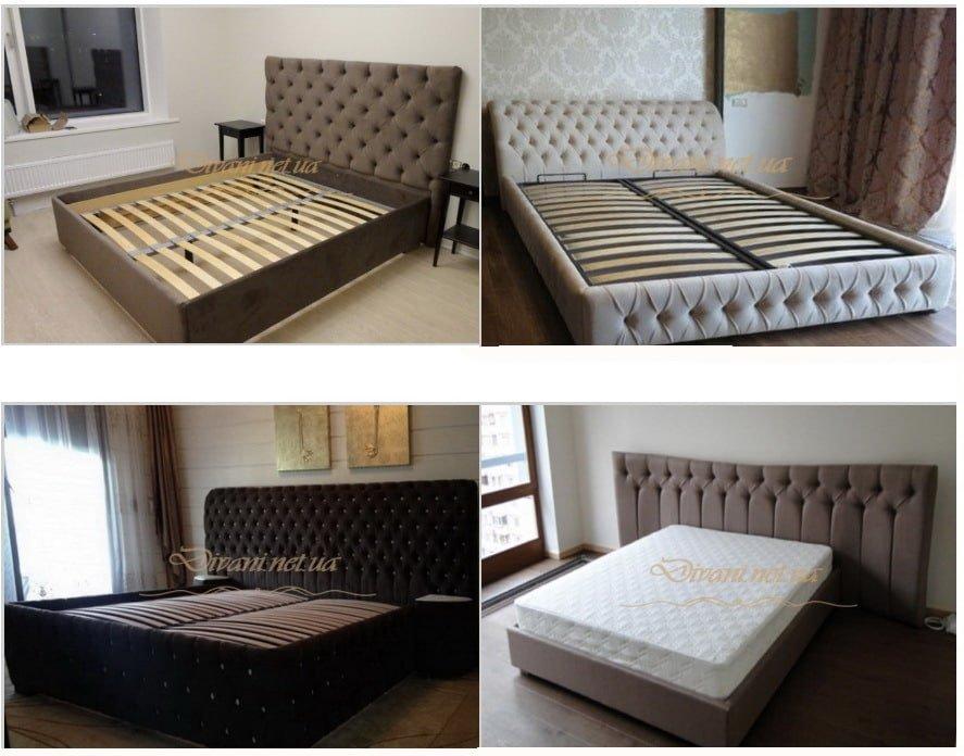 двухспальные мягкие кровати под заказ в Киеве