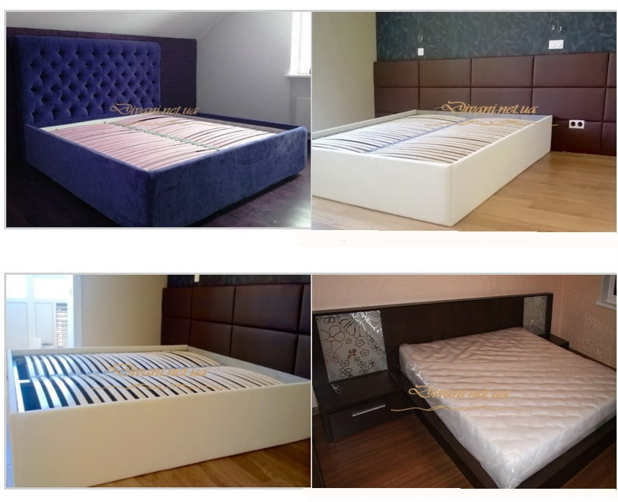 кровати на заказ с мягкими изголовьями