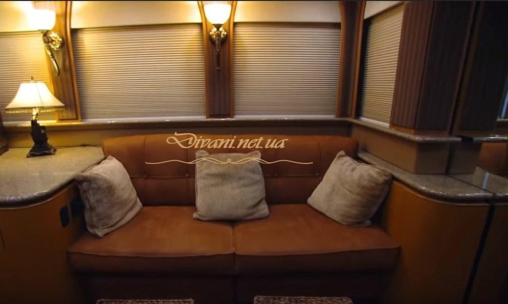 заказать диван для яхты