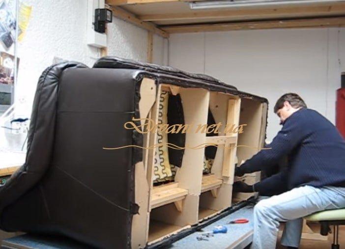 услуги перетяжки мебели