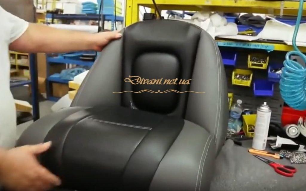 как делают кресла для яхт