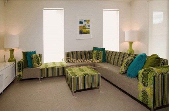 в гостинную угловая мягкая мебель